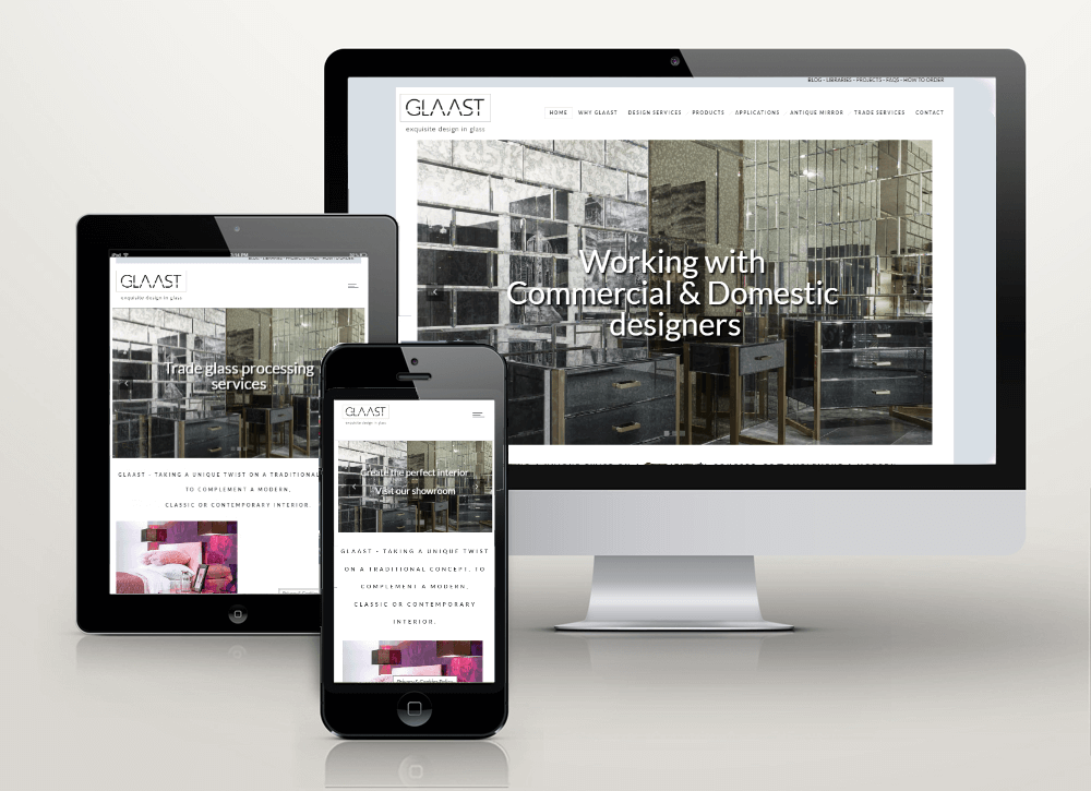 Glaast New Brand and Website