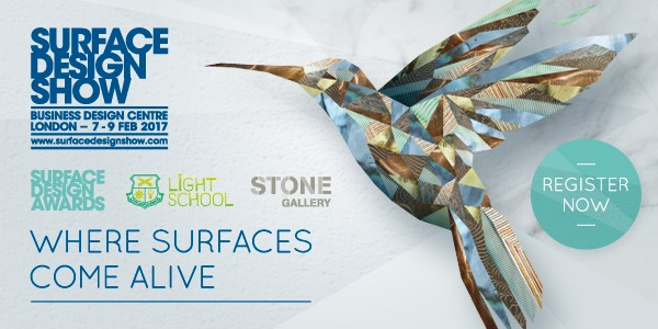 Surface Design Show  - Glaast are exhibiting