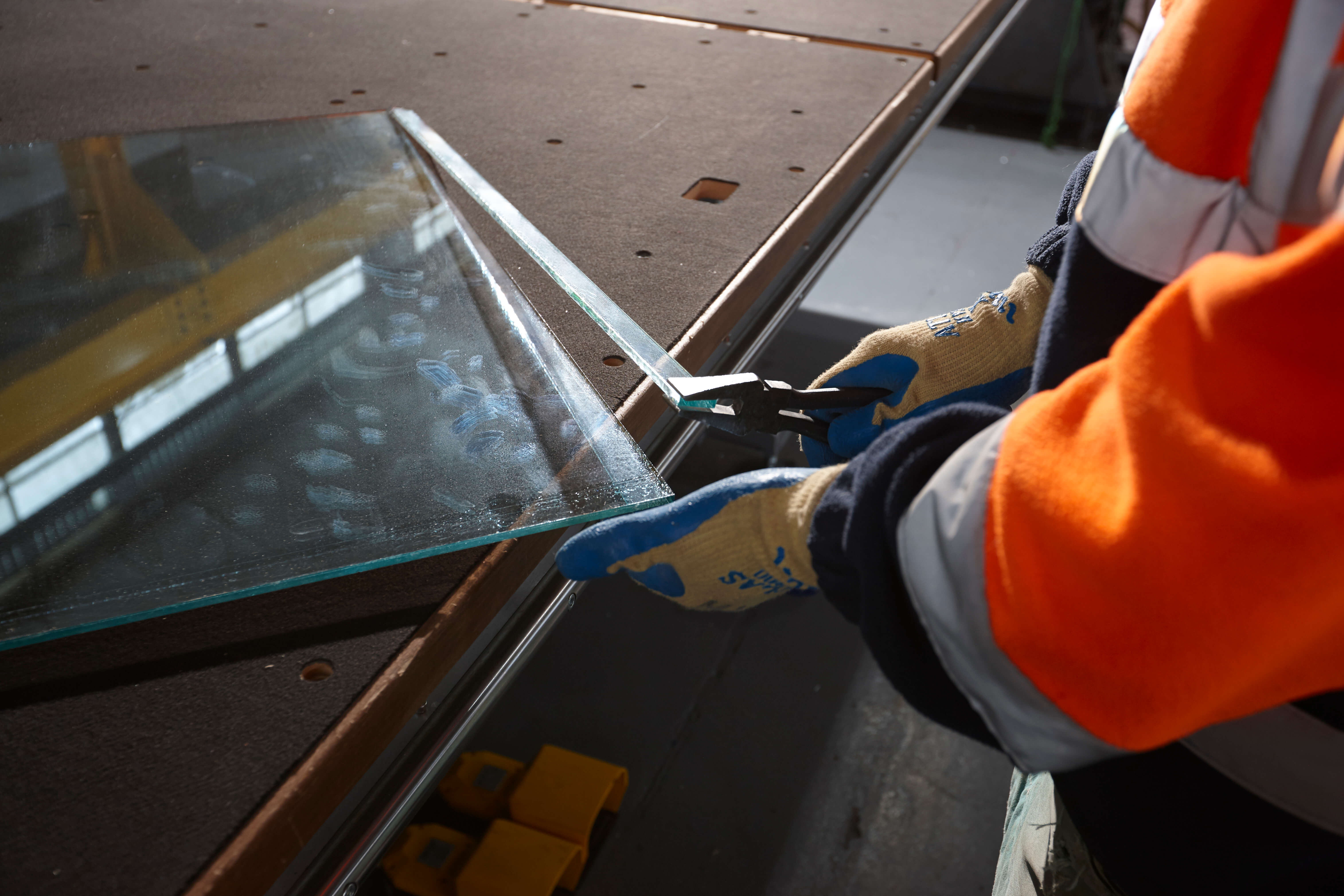 glass manufacturing facilities